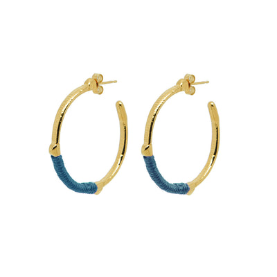 Dido Hoops Teal