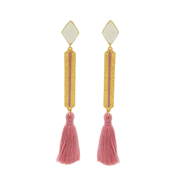 Izzy Earrings Blush