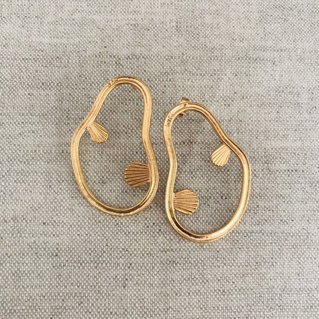 Wylde Earrings Gold