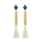 Izzy Earrings Teal