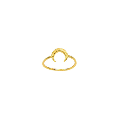 Mathilda Crescent Ring