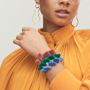 Raquel Tassel Bangle Green
