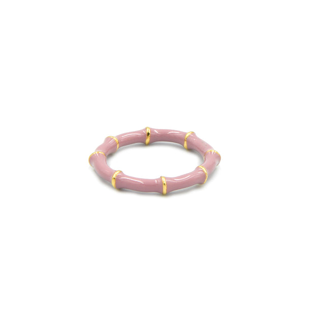 Solange Bamboo Ring Blush