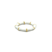 Solange Bamboo Ring White