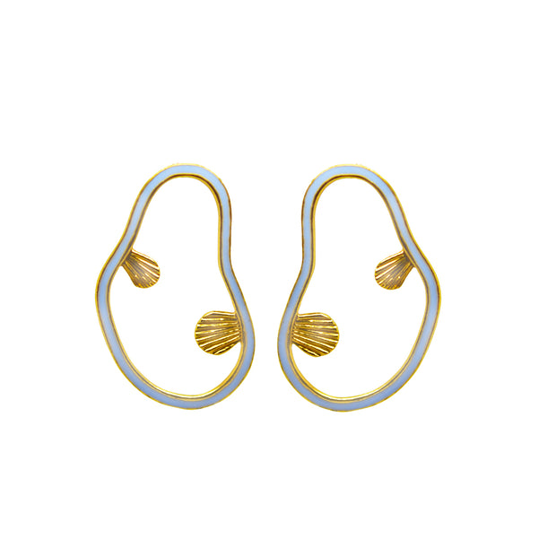 Wylde Earrings Light Blue