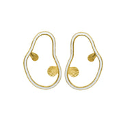 Wylde Earrings White