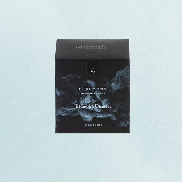 Ceremony Candle - Triumph & Disaster NZ