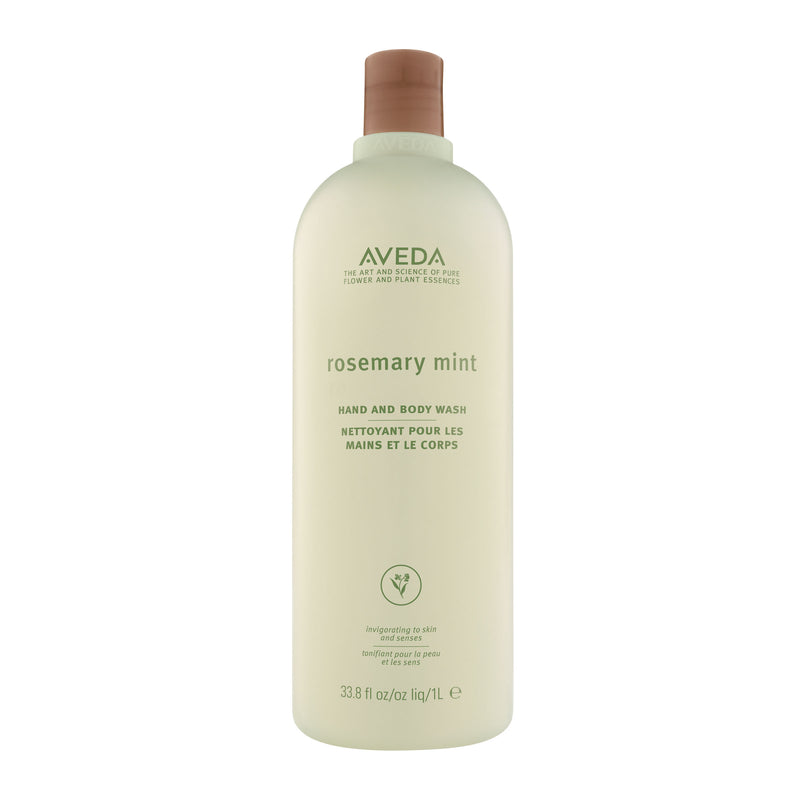 Aveda rosemary mint hand and body wash - 1 litre