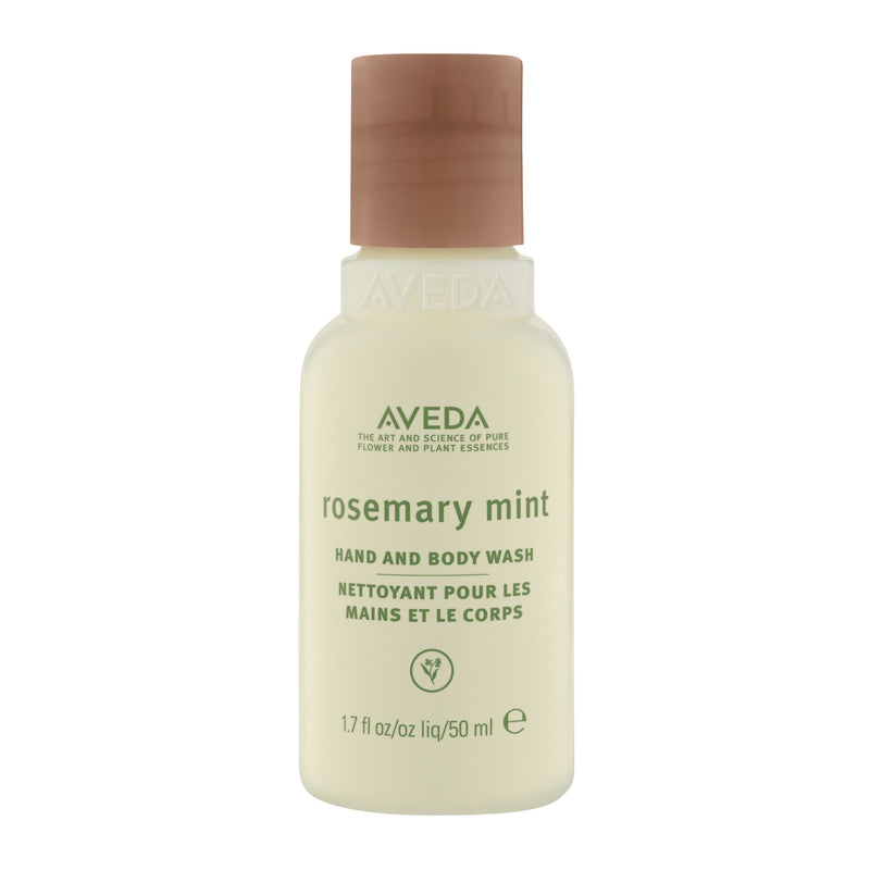 Aveda rosemary mint hand and body wash - travel size