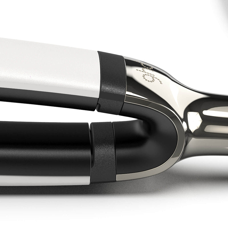 ghd Platinum+ White Straighteners wishbone hinge