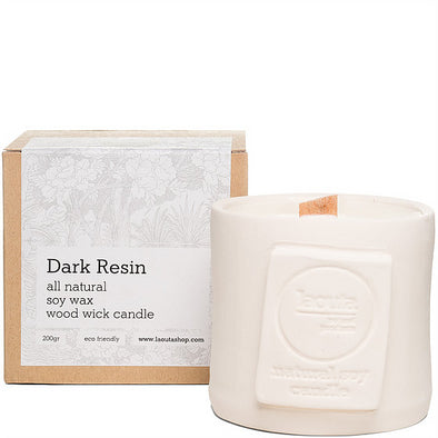 Candle - Dark resin