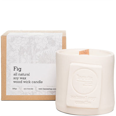 100% natural soy wax candle