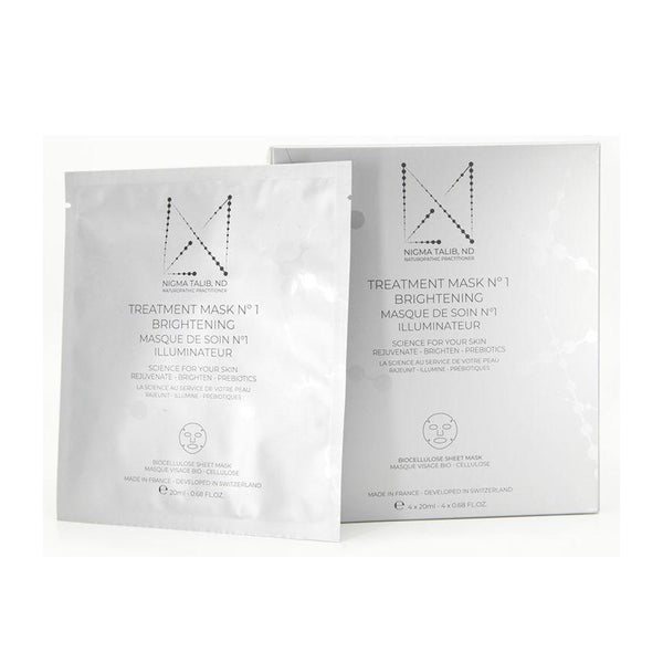 Dr Nigma Treatment Mask No1 Brightening (4 x 20ml)