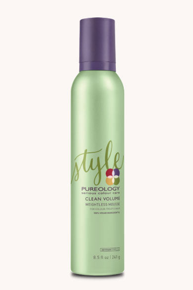 pureology Clean Volume™Weightless Mousse
