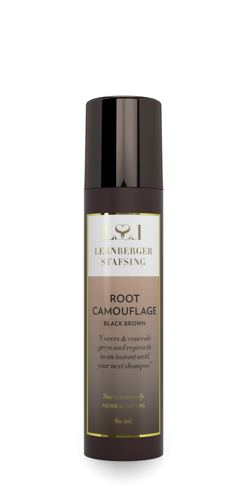 Root camouflage black brown