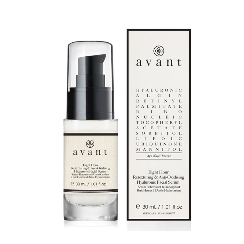 Avant Eight-hour Retexturing Hyaluronic Facial Serum