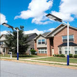 200Watt Solar Street Light with Remote and Bracket