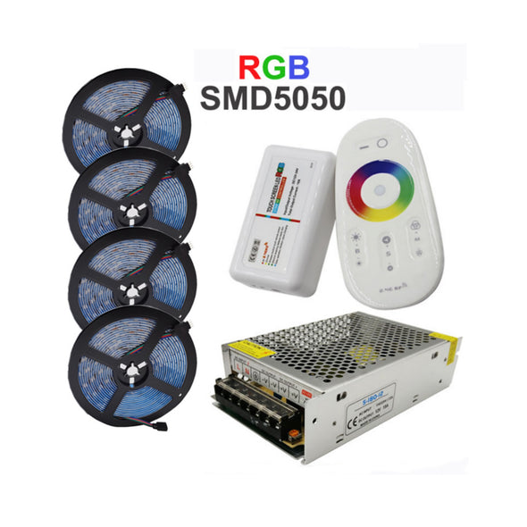 RGB LED 4x5MTR (64FT) 12V STRIP SET |LIGHT52.com
