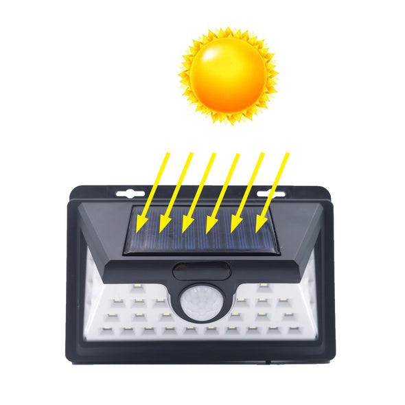 Outdoor Solar Wall Light 32LED Solar Lights