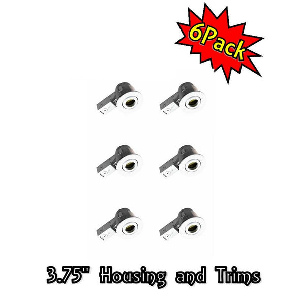 "3.5"" Housing + Trims Set for 6pcs Pack"