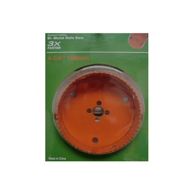 "4-1/4"" Hole Saw 108mm"