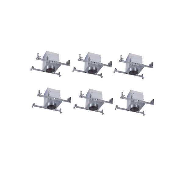 4 Inch IC New Construction Housing 6Pack - lightled52.myshopify.com