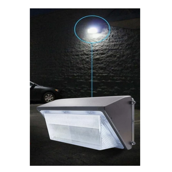 Wall Pack commercial plaza 80W exterior LED - Light52.com