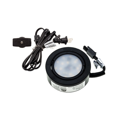 Puck Under Cabinet Light 120V 3Pack