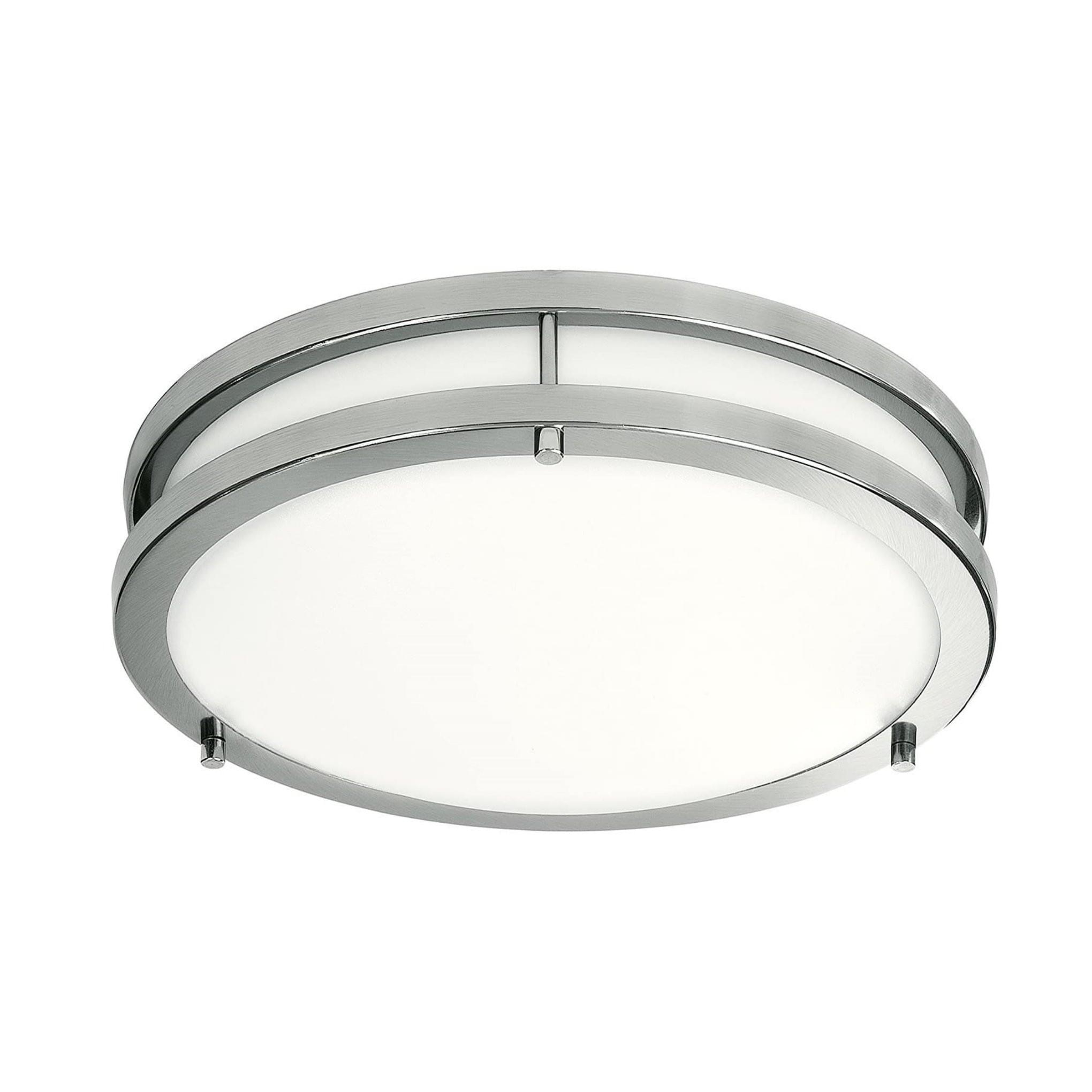 Flush Mount LED Fixture 15Inch 3in ONE LED Ceiling Lights