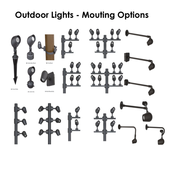 Outdoor LED Spot Lights 10W ~ 20W