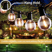 Vintage LED Globe G40 Solar String Light