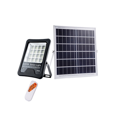 Solar Flood Light 100W with Remote