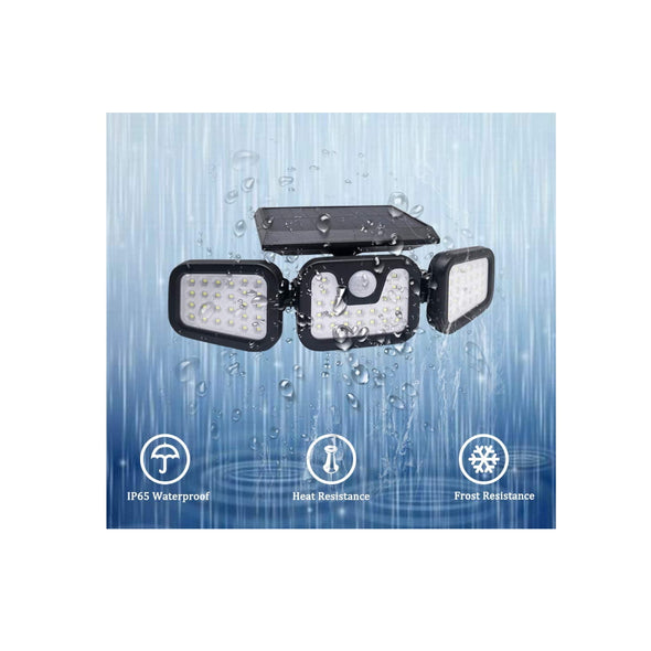 Solar Security LED Light 74LED