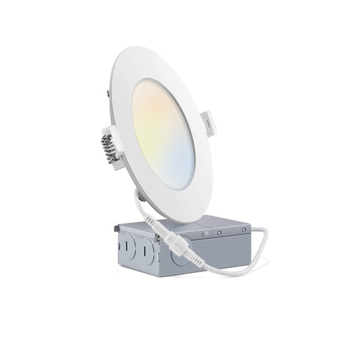 9W 4Inch 750LM 3Color Dimmable LED Slim |Light52.com