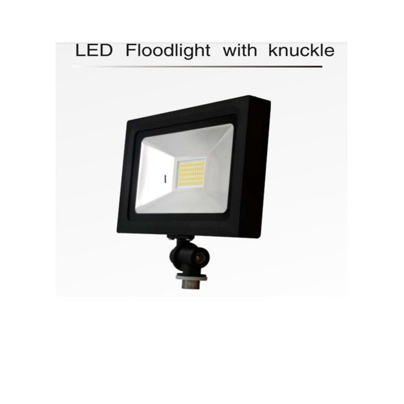 LED FLOODLIGHT-50W KNUCKLE 3K