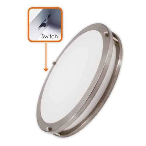 "3WAY CCT ADJUSTABLE   15"" Slim ceiling Fixture - lightled52.myshopify.com"