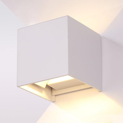 Angle Adjustable Exterior Wall lights square - Light52.com