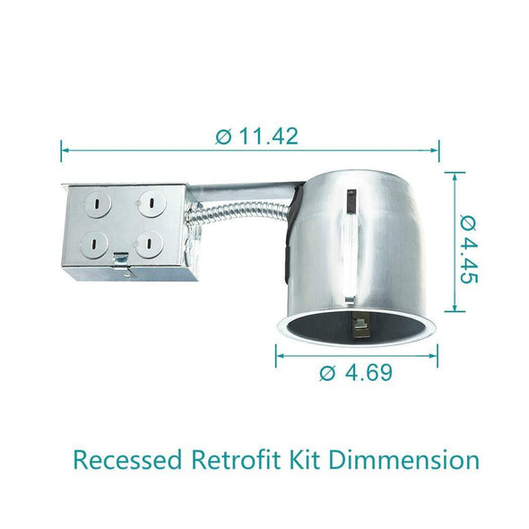 "4""Remodel IC Rated Housing 6Pack - Light52.com"