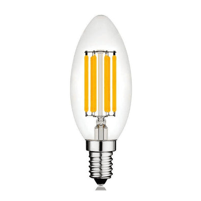 LED Filament Bulb 4W Candle E12 Base - Light52.com