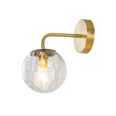 Golden Glass LED Wall lights Indoor 4Watt - Light52.com