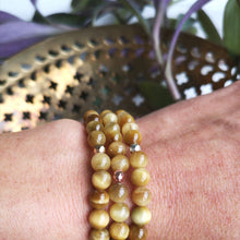 Load image into Gallery viewer, Golden Tiger's Eye Essential Oil Diffuser Bracelet