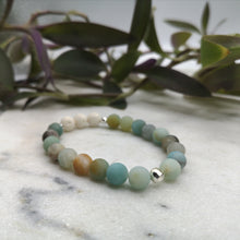Load image into Gallery viewer, Amazonite Essential Oil Diffuser Bracelet