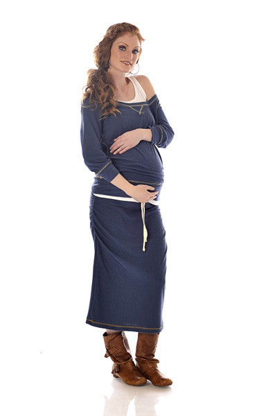 Lilac Maternity Top Emily S/M Only, Maternity Tops Nursing Tops Canada,- Luna Maternity & Nursing
