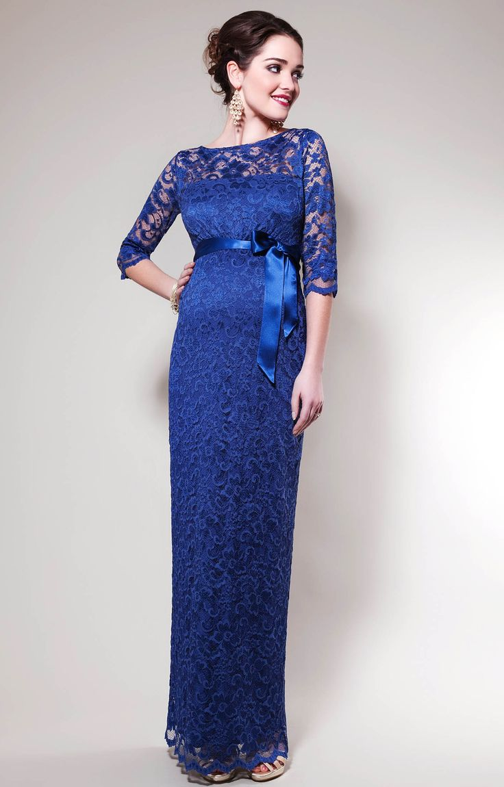 Tiffany Rose Long Lace Maternity Gown Amelia Online Canada Free Ship