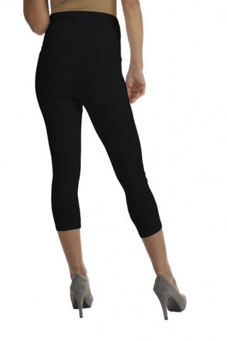 Queen Mum Cropped Maternity & Post Pregnancy Leggings, Maternity Leggings Toronto Canada Online,- Luna Maternity & Nursing