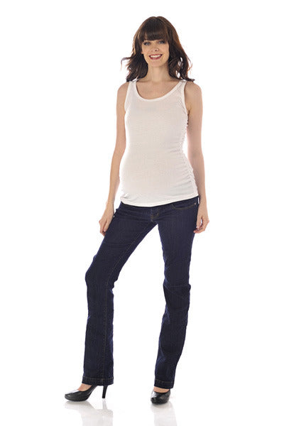 Lilac Maternity & Tummy Trimmer Post Pregnancy Bootcut Jeans - Size XS/S, Designer Maternity Jeans Toronto Canada Online,- Luna Maternity & Nursing