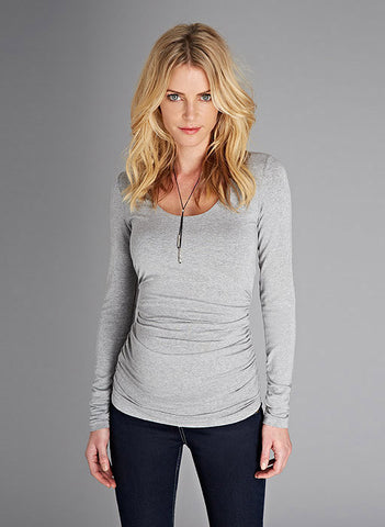Isabella Oliver Scoop Neck Maternity Top, Maternity Tops Nursing Tops Canada,- Luna Maternity & Nursing
