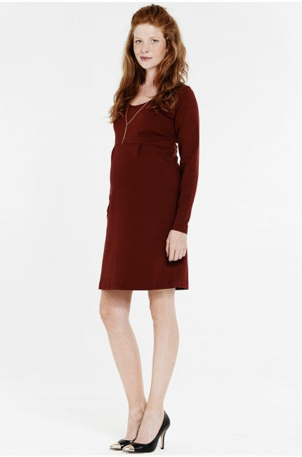 7e161689590 Queen Mum Maternity Dress - Punta di Roma - 4696