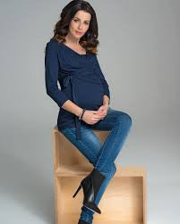 9fashion Maternity & Nursing Top Solange, Maternity Tops Nursing Tops Canada,- Luna Maternity & Nursing