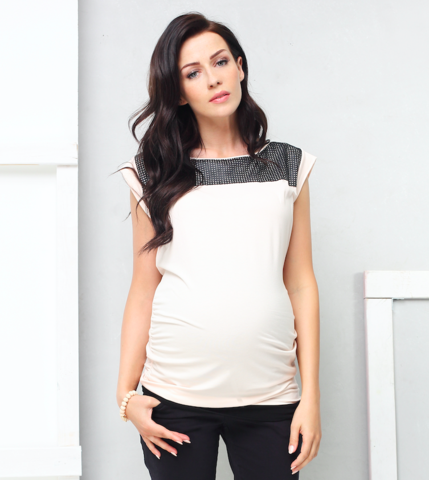 9fashion Maternity Top Lorietta, Maternity Tops Nursing Tops Canada,- Luna Maternity & Nursing